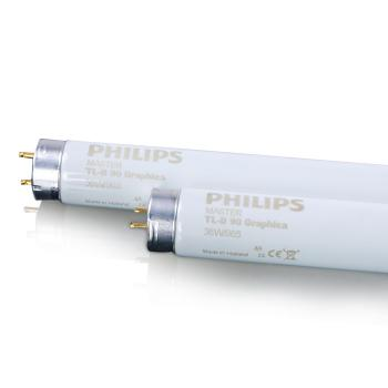 PHILIPS 标准光源D65灯管MASTER TL-D 90 GRAPHICA 36W/965 SLV/10